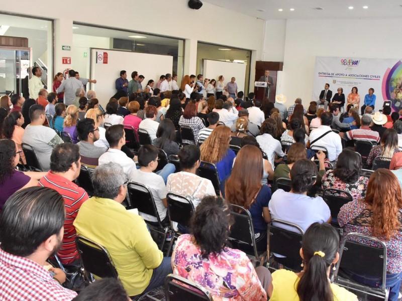 Programas de apoyo para Asociaciones Civiles