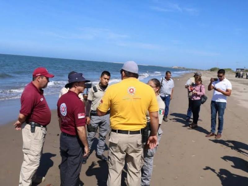 Prohíben ingresar a playa El Maviri tras derrame de combustible