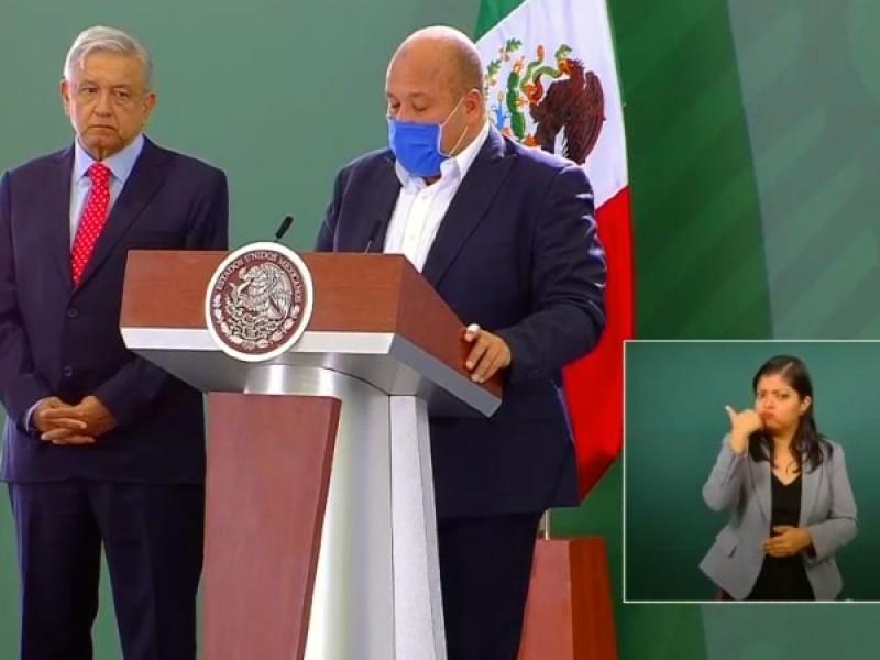 Promete AMLO respaldo para Enrique Alfaro ante amenazas del crimen