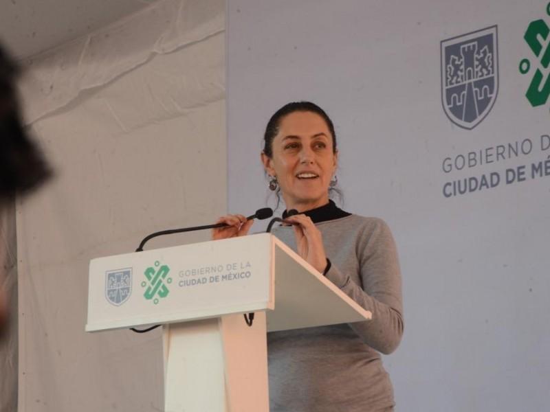 Promete Sheinbaum acabar con corrupción en INVI