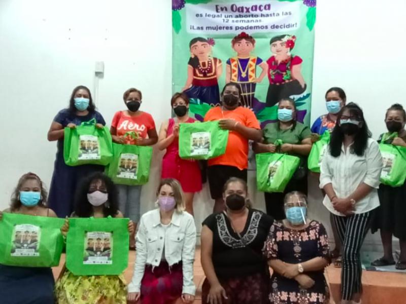 Promueven aplicación de la ley de aborto en el Istmo de Tehuantepec