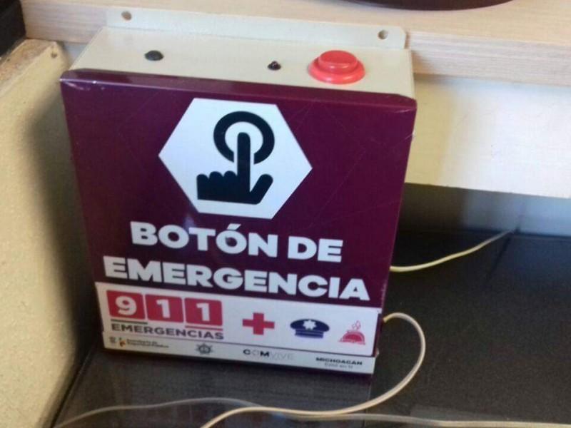 Promueven colocación de botones de emergencia en Zamora