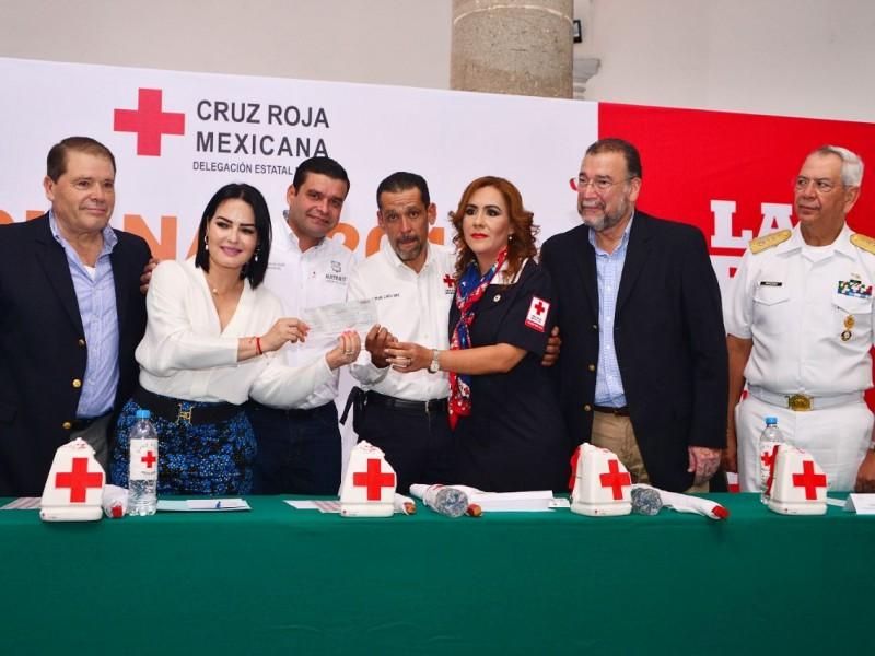 Promueven iniciativa de impuestos para Cruz Roja