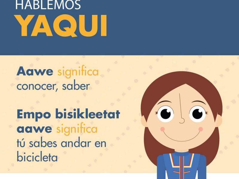 Promueven lengua materna yaqui en primarias