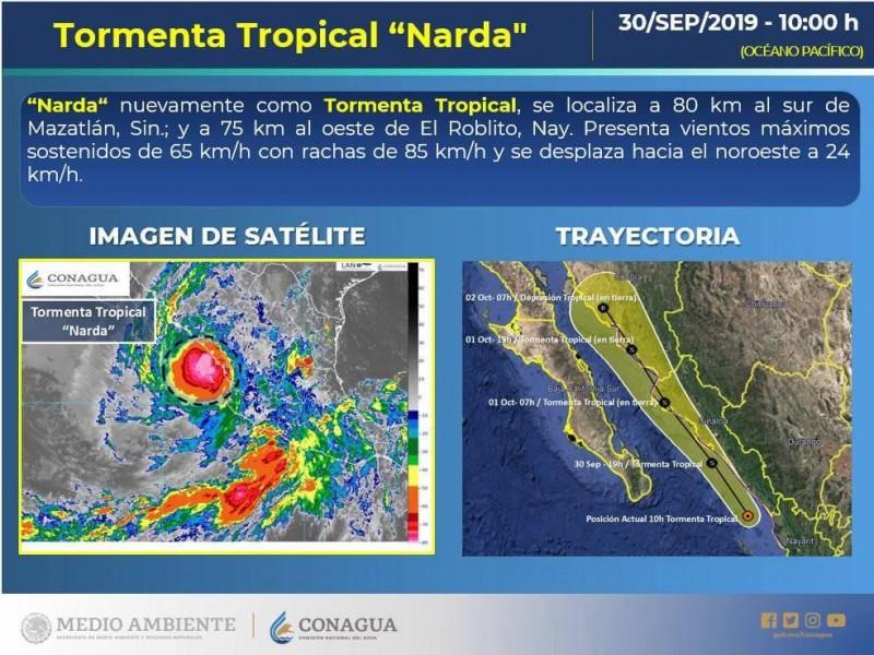 Pronostican afectaciones solo a puertos de Sinaloa