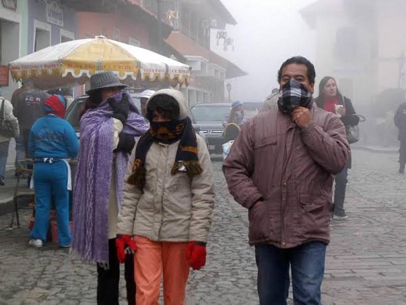 Pronostican ambiente frío y heladas en el país