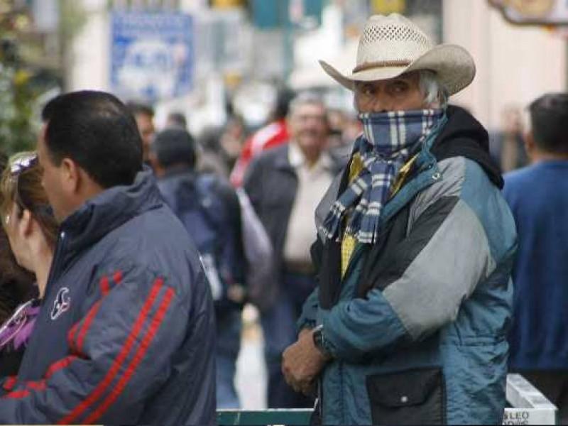 Pronostican frente frío en para el martes 16 de marzo