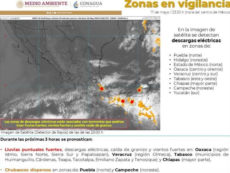 Pronostican fuertes lluvias en gran parte del país