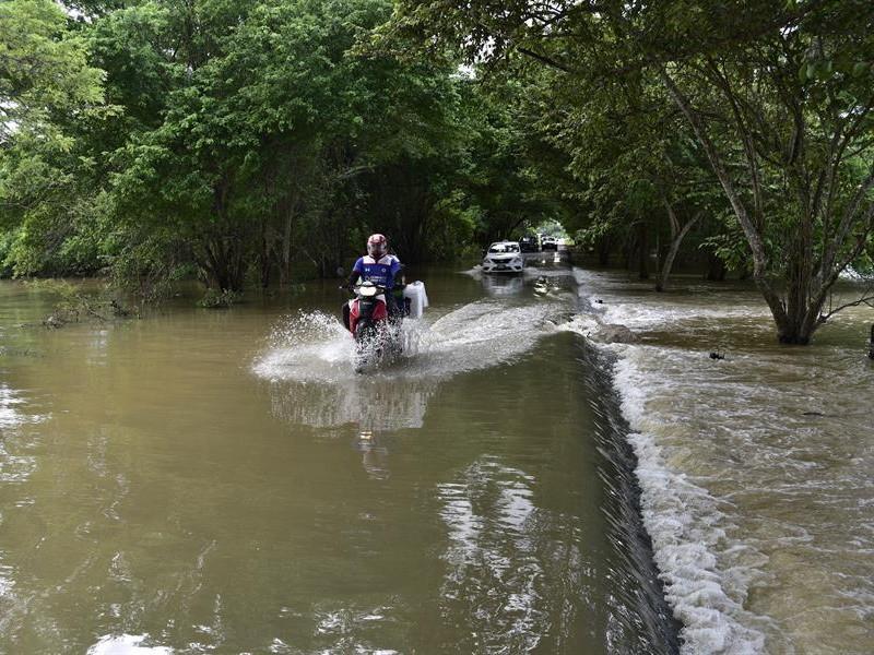 Pronostican fuertes lluvias y frente frío para México