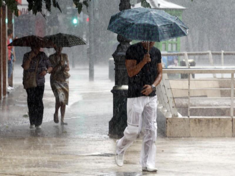 Pronostican lluvias en gran parte del país