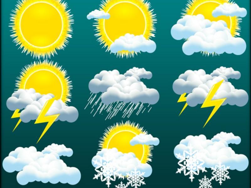 Pronostican lluvias fuertes dispersas, rachas de viento y granizo