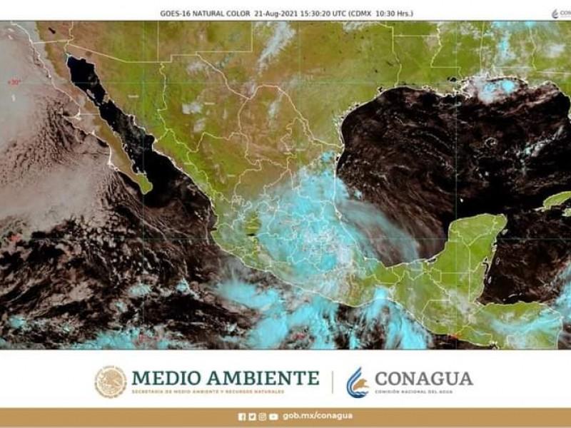 Pronostican lluvias torrenciales en Michoacán por paso de Grace