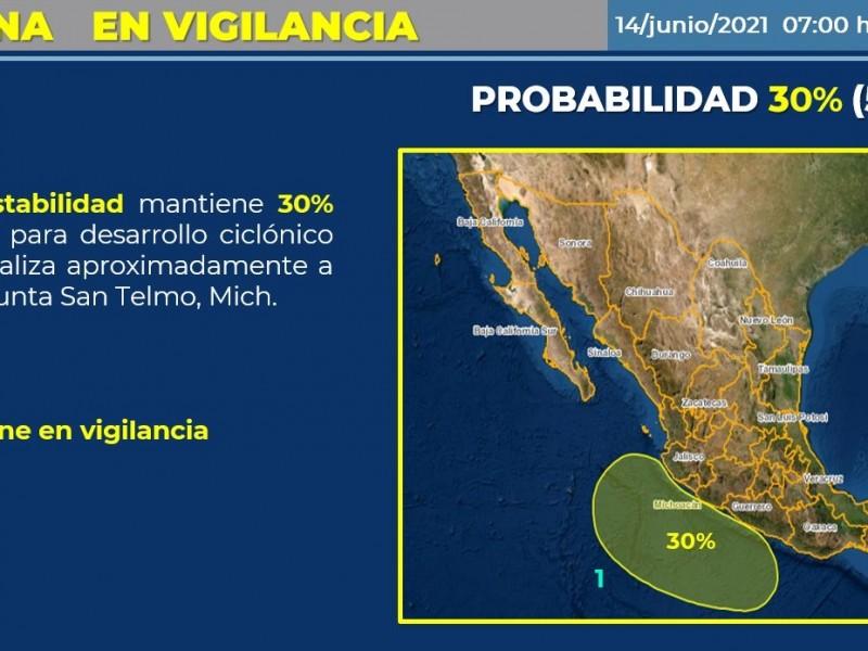 Pronostican para Colima día nublado con lluvias fuertes