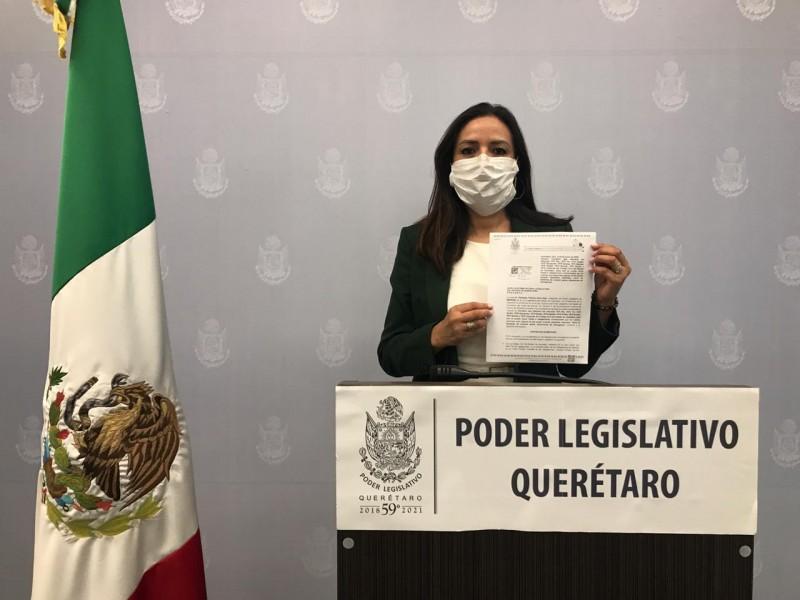 Propone diputada suspender obligaciones de contratos durante emergencias