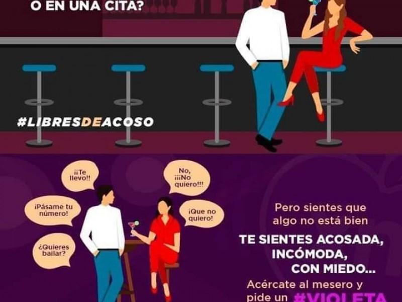 Proponen campaña contra violencia de género en bares