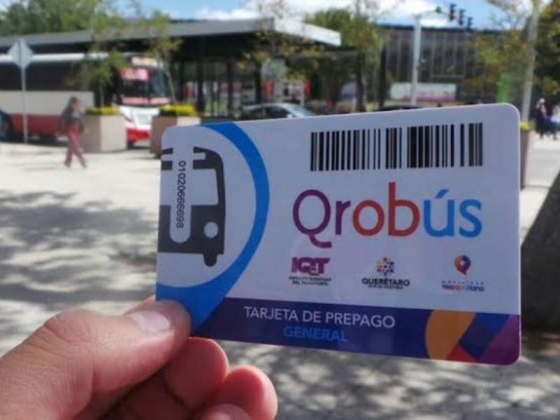 Prórroga para canje boletas Transporte Público Qrobus