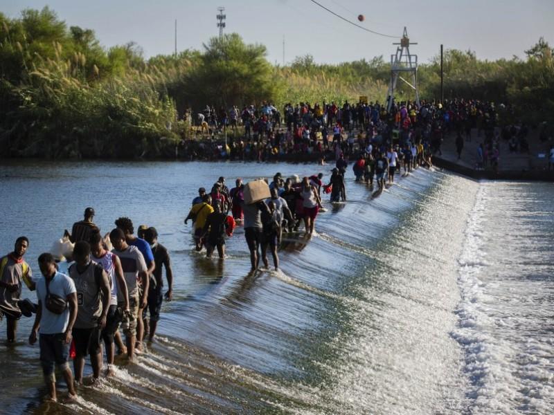 Protección Civil de Acuña busca cuerpos de migrantes ahogados