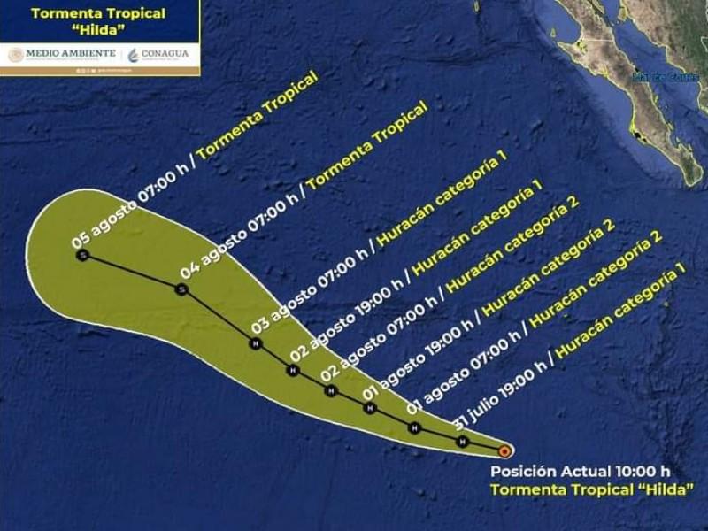 Protección civil  mantiene monitoreo de tormenta Hilda