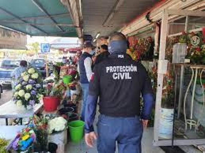 Protección civil prepara operativo del día de las madres