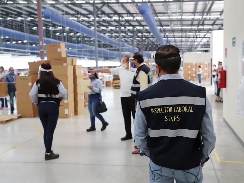 Protege STyPS a 60 mil trabajadores con inspecciones a empresas