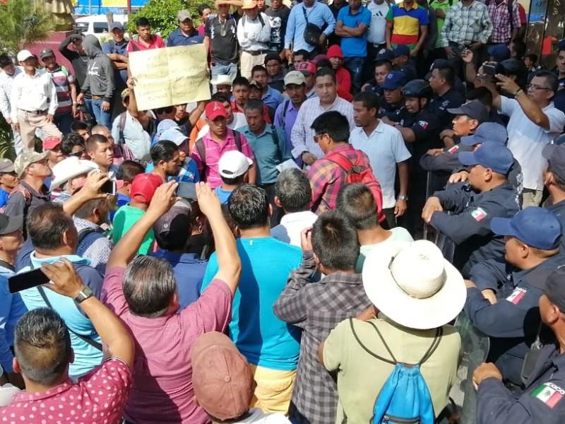 Protestan en Tapachula ante nula atención del Ayuntamiento