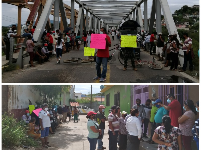 Protestan habitantes de Tehuantepec contra CFE; incumple acuerdo firmado