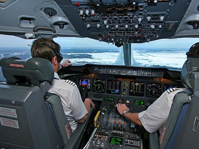 📹Protestan pilotos en aviones argentinos