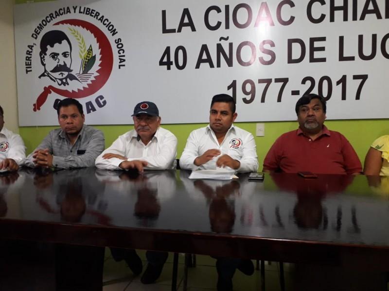 Protestará CIOAC por liberación de presunto asesino