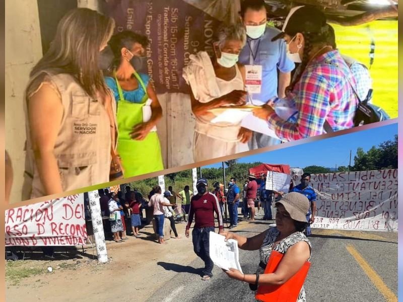 Protestas contrastan alcances oficiales de programas sociales en Oaxaca