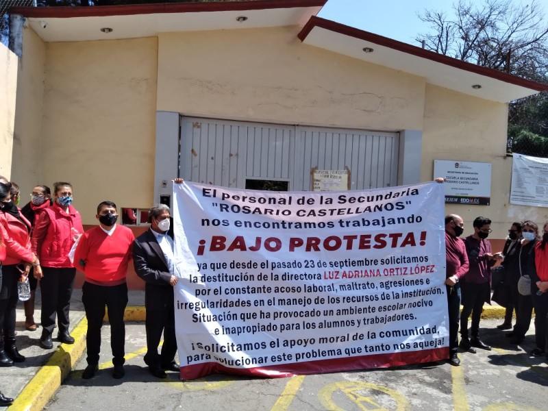 Protestas en la Escuela secundaria