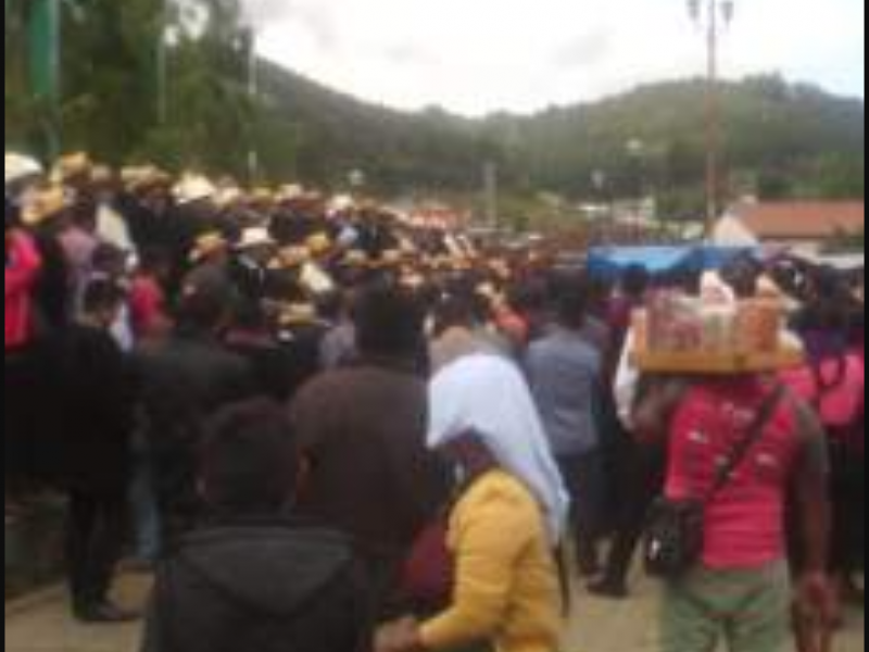 Protestas en San Juan Chamula