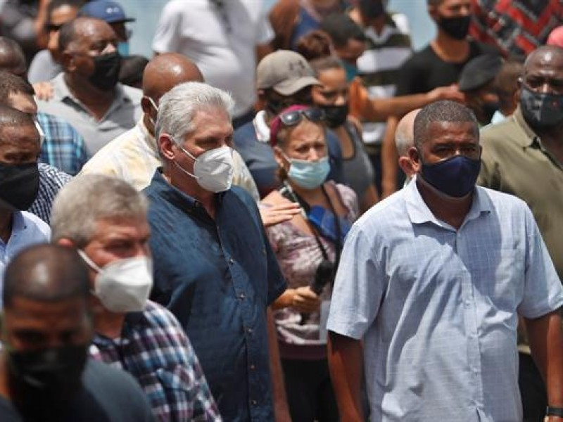 Protestas multitudinarias en Cuba