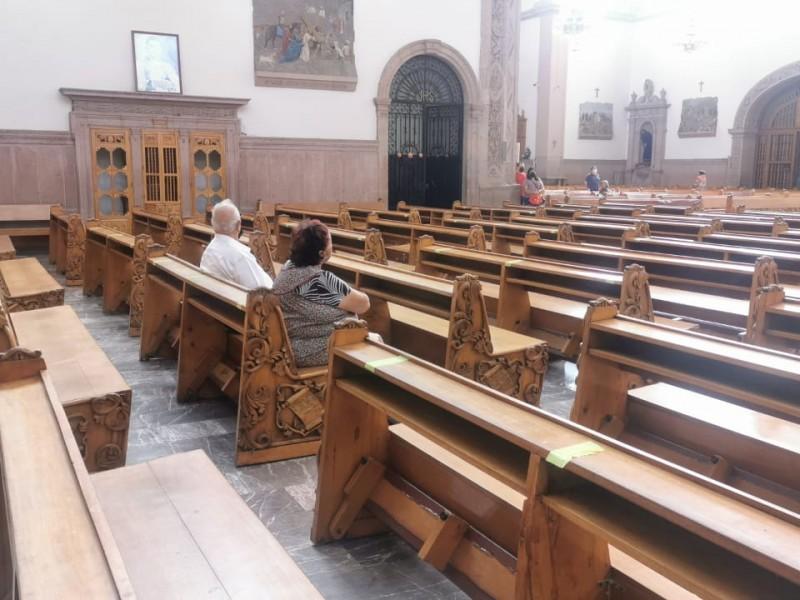 Protocolizar sana distancia en centros de culto