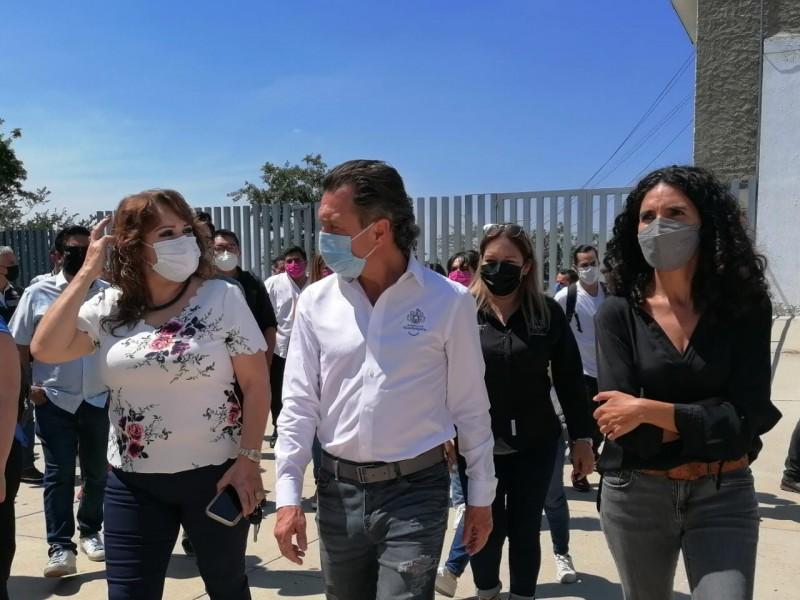 Proyecta Lemus cuatro centros comunitarios Colmena en Guadalajara
