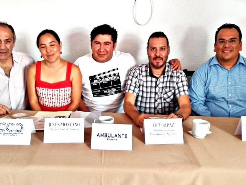 Proyectarán festival ambulante de documentales en cine club