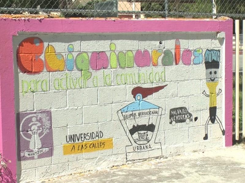 Proyecto Chiquimurales en contra del maltrato infantil