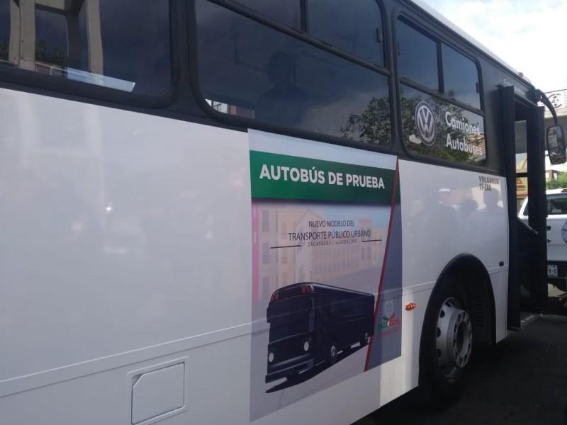 Prueban autobuses Volkswagen para el Platabus