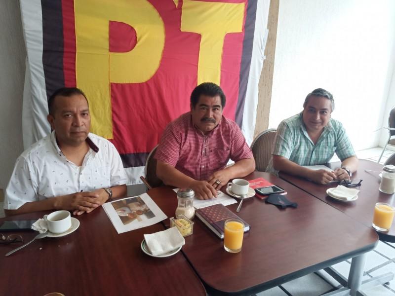 PT retira apoyo a Morena por candidatura de Salazar Woolfolk