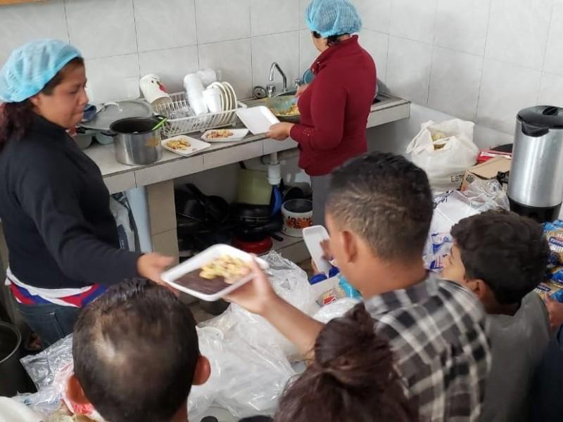 Puebla atendió a 905 migrantes centroamericanos