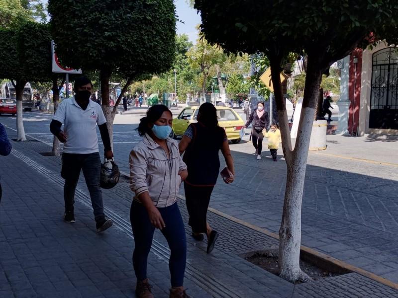 Puebla regresa a semáforo estatal naranja