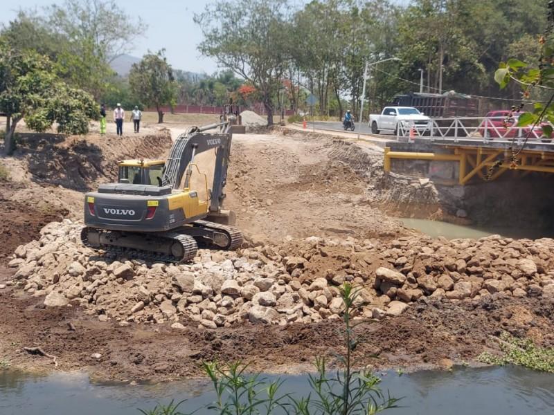 Puente de la avenida principal será terminado en septiembre