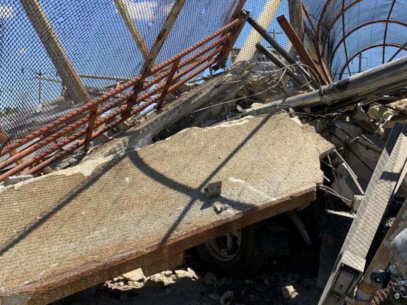 Colapsa puente peatonal en Washington DC; hay heridos