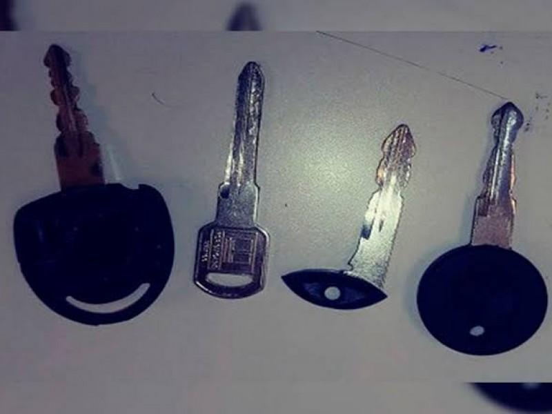 Puesto a disposición al encontrarle llaves limadas