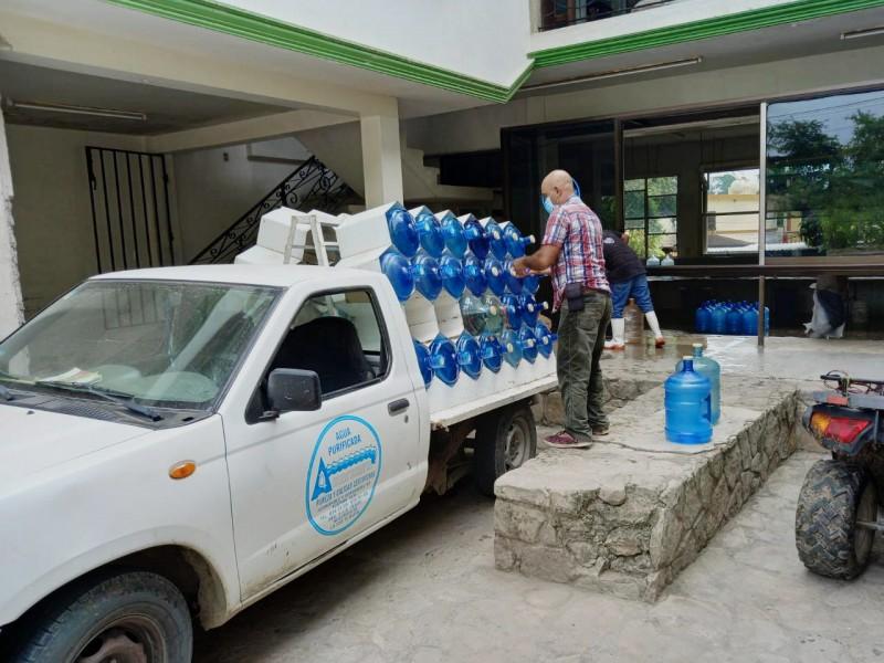 Purificadoras retoman actividades de servicio en Tuxpan