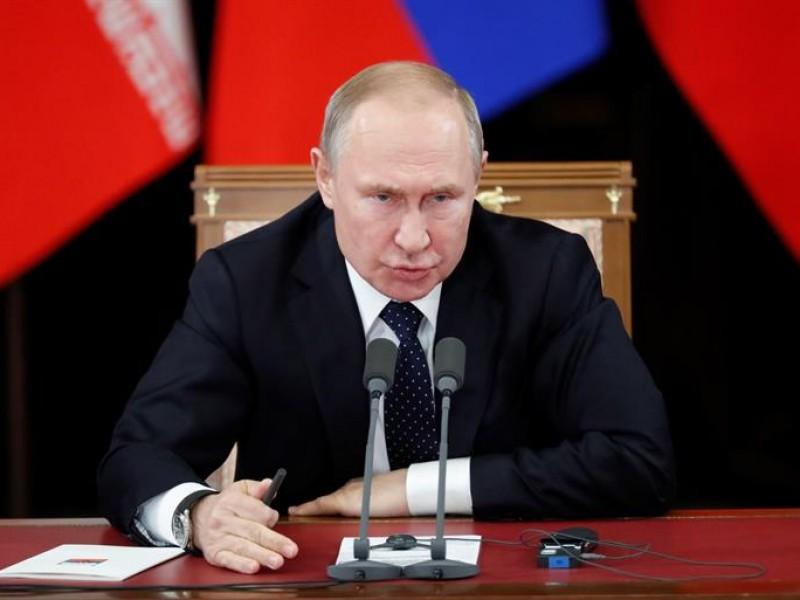 Putin amenaza con dirigir sus misiles contra EEUU