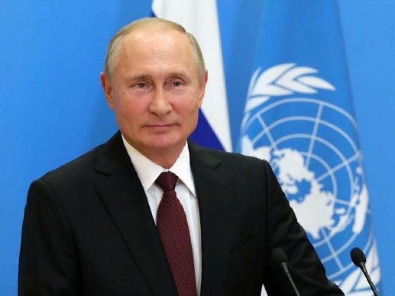 Putin ofrece gratis vacuna Covid-19 a empleados de la ONU