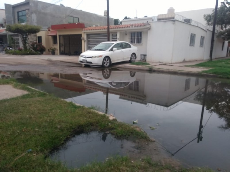 Que no se paren obras de reparación de drenajes