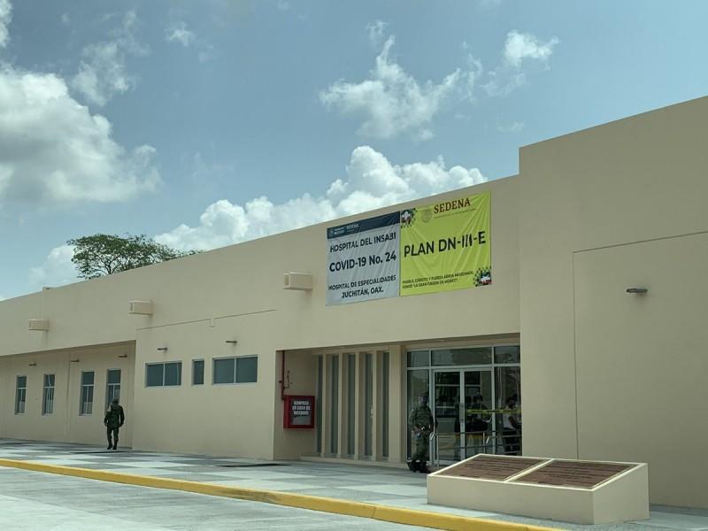 Quedará a cargo del INSABI el Hospital de Juchitán:Jurisdicción 02