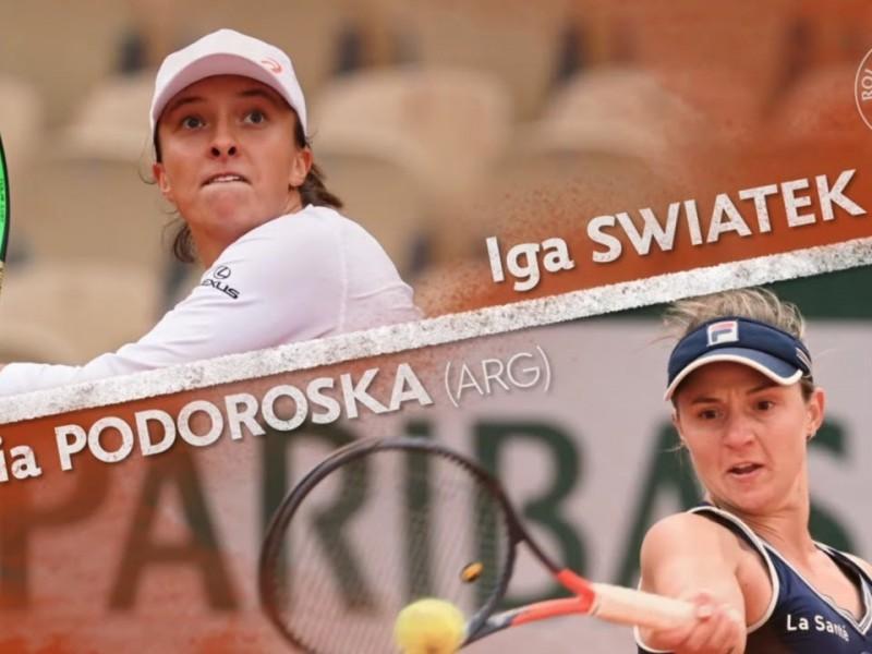 Quedo lista la final del Roland Garros
