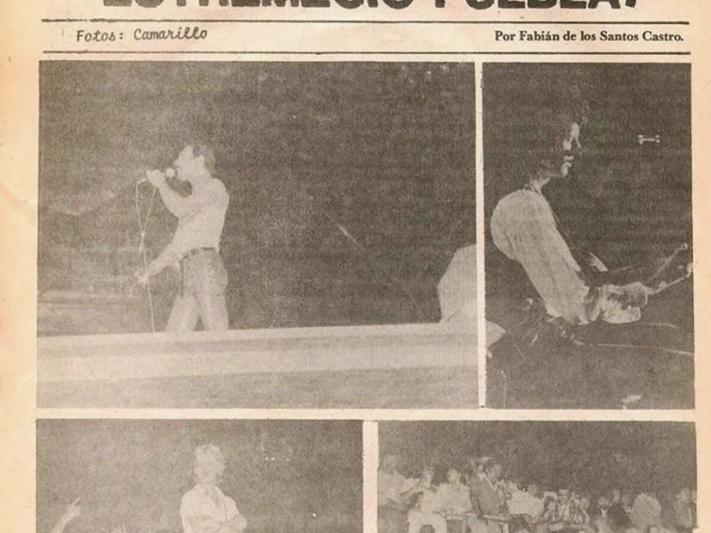 Queen visitó Puebla hace 38 años #UnDíaComoHoy